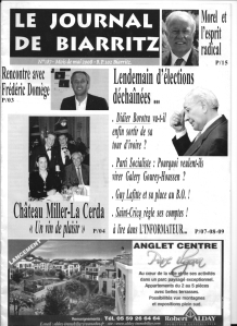 Le journal de Biarritz