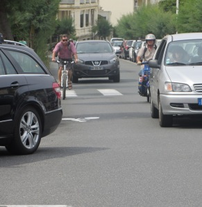 Piste cyclable Biarritz