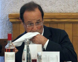 Hollande à table