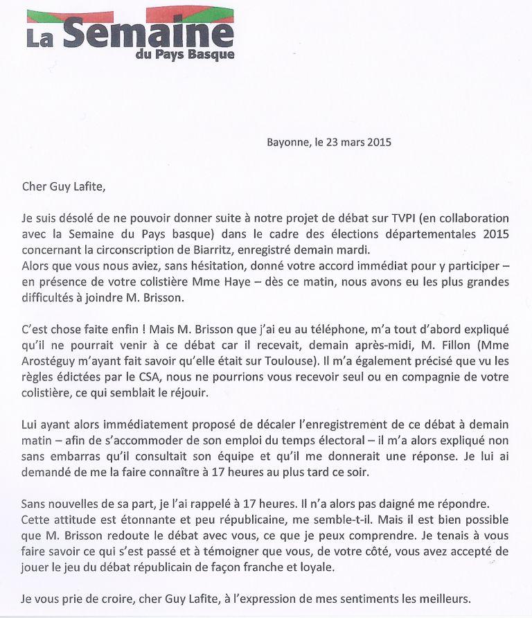 UN KOSPEI À BIARRITZ | Bisque, Bisque, Basque! | Page 31