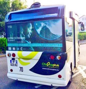 Autobus Cité de l'Océan